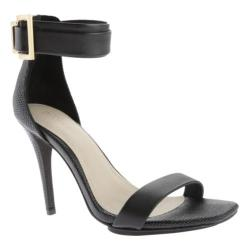Women's Calvin Klein Sable Sandal Black Leather