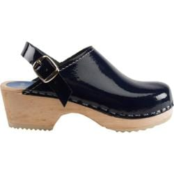 Cape Clogs Navy Patent Clog Navy