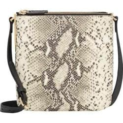 Women's Vince Camuto Neve Small Cross Body Ivory Python