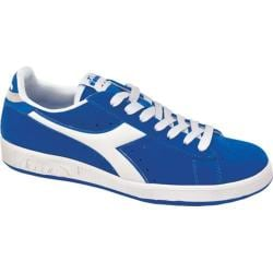 Men's Diadora Game Suede II Sneaker Sky Blue/White