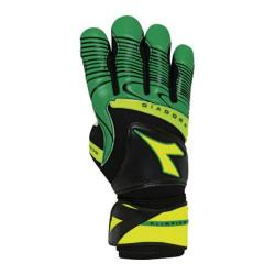 Diadora Olimpico Gloves Green/Black/Fluorescent Yellow