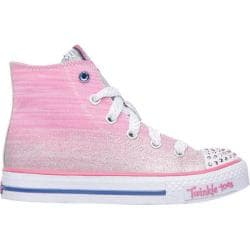 Girls' Skechers Twinkle Toes Shuffles Splendorific Pink/Blue
