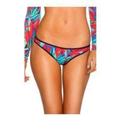 Women's B. Swim Nova Cheeky Bikini Bottom Thunderbird