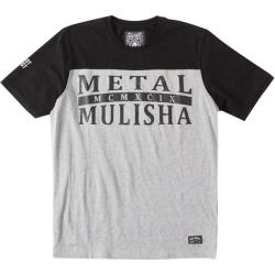 Men's Metal Mulisha Lineman Knit Tee Heather Grey