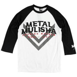 Men's Metal Mulisha Race Day Raglan Optic White