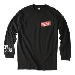 Men's Metal Mulisha Sobriety Long Sleeve Black