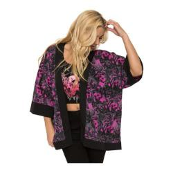Women's Metal Mulisha Stevie Kimono Top Rose Print