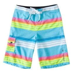 Boys' O'Neill Santa Cruz Stripe Light Blue