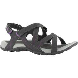 Women's Hi-Tec Waimea Falls Charcoal/Purple