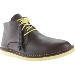 Men's Clarks Darning Hi Grey Leather
