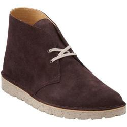 Men's Clarks Desert Aerial Dark Brown Suede