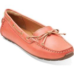 Women's Clarks Dunbar Groove Coral Leather