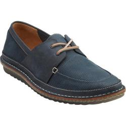 Men's Clarks Grafted Sail Dark Blue Leather