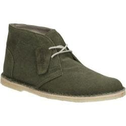 Men's Clarks Jink Desert Green Canvas