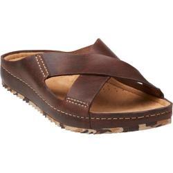 Men's Clarks Netrix Cross Brown Leather