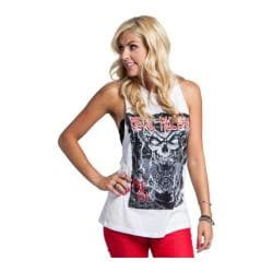 Women's Metal Mulisha Greatest Hits Tank Optic White