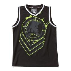 Boys' Metal Mulisha Metalhead Jersey Black