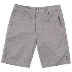 Men's Metal Mulisha Straight Away Short Charcoal Heather