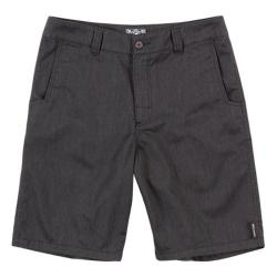 Men's Metal Mulisha Straight Away Short Heather Black