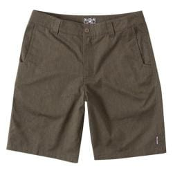 Men's Metal Mulisha Straight Away Short Military Green