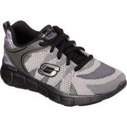 Boys' Skechers Equalizer Quick Reaction Sneaker Charcoal/Black