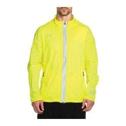 Men's Skechers Rapid Windbreaker Jacket Neon Yellow