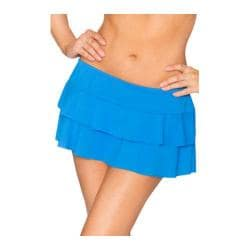 Women's Sunsets Tiered Swim Skirt Tile Blue