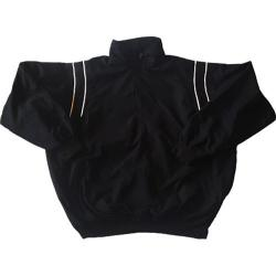 Men's 3N2 Umpire Half-Zip Jacket Black