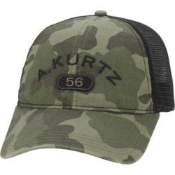 Men's A Kurtz Arc Camo Trucker Hat Military
