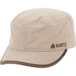 Men's A Kurtz Bilton Legion Military Cap Khaki