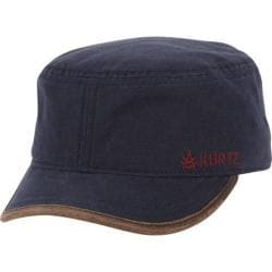 Men's A Kurtz Bilton Legion Military Cap Navy