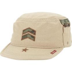 Men's A Kurtz Camo Detail Fritz Legion Cap Khaki