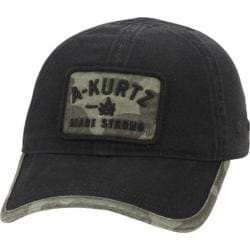 Men's A Kurtz Patch Baseball Cap Black