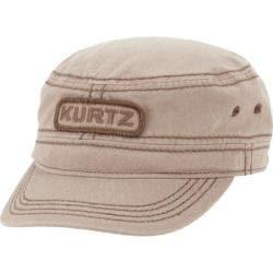 Men's A Kurtz Stark Legion Military Cap Khaki