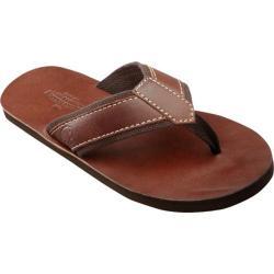 Men's Buffalo Jackson Trading Co. Cherokee Sandal Brown Leather