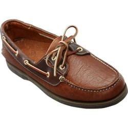Men's Buffalo Jackson Trading Co. Tahoe Boat Shoe Walnut Tumbled Bison