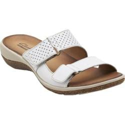 Women's Clarks Taline Trim White Leather