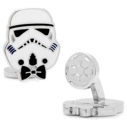 Men's Cufflinks Inc Stylish Storm Trooper Cufflinks White