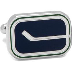 Men's Cufflinks Inc Vintage Vancouver Canucks Cufflinks Blue