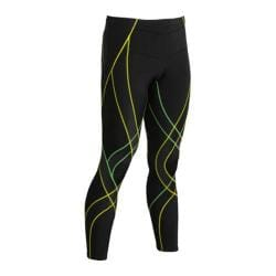 Men's CW-X Endurance Generator Tights Black/Green/Yellow