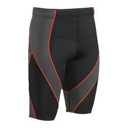 Men's CW-X Pro Shorts Black/Grey/Orange