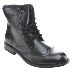 Men's Da Viccino M3-828 Wing Tip Boot Black