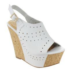 Women's Da Viccino Port-6 Cork Slingback Sandal White