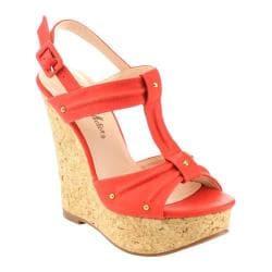 Women's Da Viccino Troy-7 Cork Sandal Coral