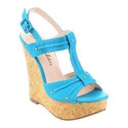 Women's Da Viccino Troy-7 Cork Sandal Turquoise