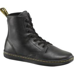 Women's Dr. Martens Leyton 7-Eye Boot Black Game On