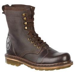 Men's Dr. Martens Pier 9 Tie Boot Dark Brown Wyoming/Hi Suede