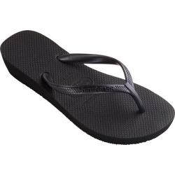 Women's Havaianas High Light Flip Flop Black