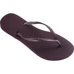 Women's Havaianas Slim Flip Flop Aubergine
