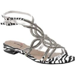 Women's Luichiny Ches Ley Sandal Zebra Fabric
